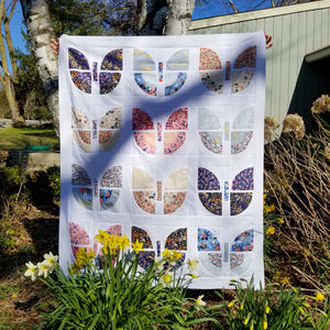 Rifle Paper company Butterfly Bouquet quilt version by Stephanie at Hillside Stitches