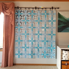 Load image into Gallery viewer, This Cross Play Quilt was made by Stephanie of Hillside Stitches