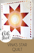 Load image into Gallery viewer, Vina's Star Quilt