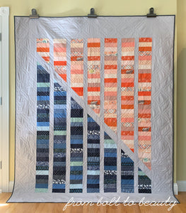 Warm and Cool Coin Quilt