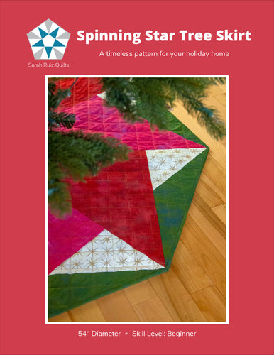 Spinning Star Tree Skirt