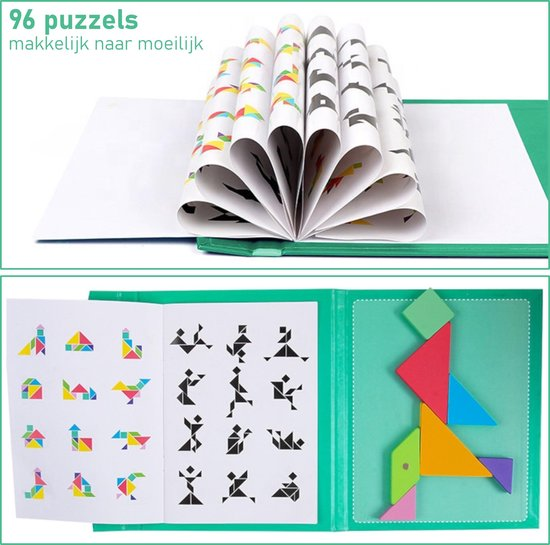 Educatief puzzelboek