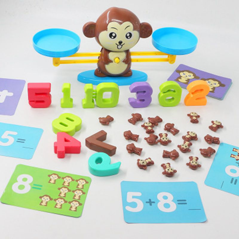 Educational Monkey Balance Toy