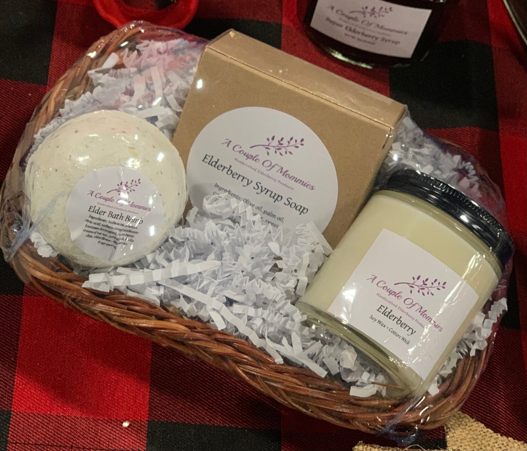 Elderberry Bath Gift Set