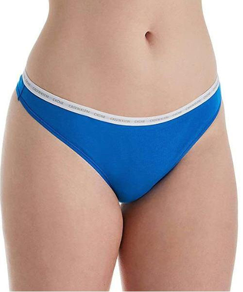 Calvin Klein Women's CK One Cotton Thong Panty - Gmbu Apparel