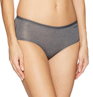 DKNY Women's Essential Microfiber Hipster Panty - Gmbu Apparel