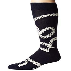 Happy Socks Mens Rope Crew Socks - Gmbu Apparel