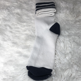 Aerie Women's Striped Cuff Knee Socks - Gmbu Apparel