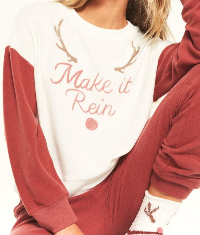 Z Supply Elle Make it Rein Sweatshirt