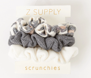 Scrunchies - Brushed Leopard