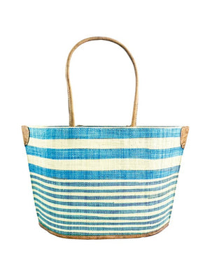 Santa Cruz Stripes Straw Bag