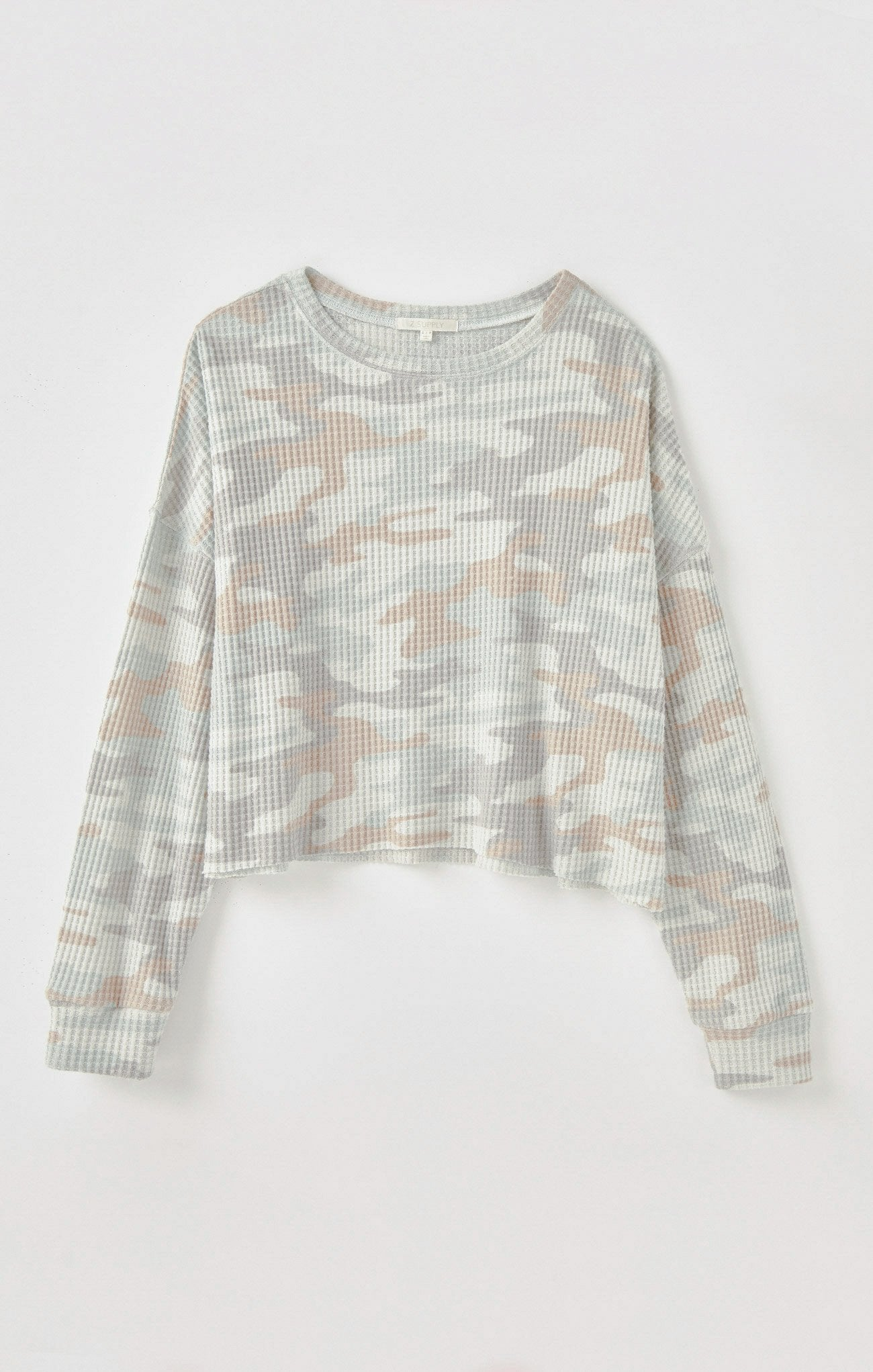 Z Supply Celina Camo Long Sleeve Shirt