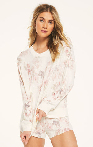 Z Supply Ella Floral Long Sleeve Shirt