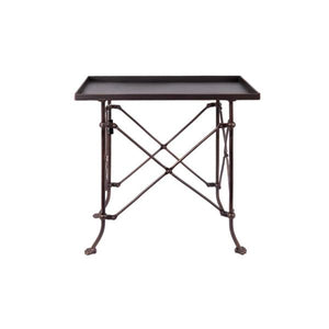 Bronze Metal Rectangle Table
