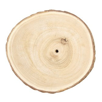 Round Paulownia Wood Slice - Large