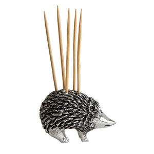 Pewter Hedgehog Toothpick Holder