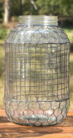 Wire Covered Jar - Extra Large