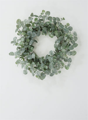 Iced Eucalyptus Wreath