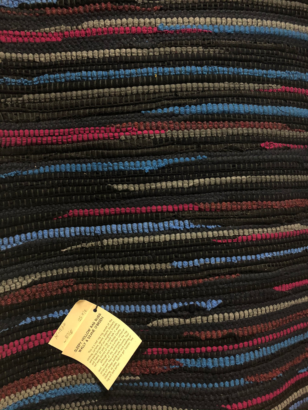 Black with Gray and Pink Stripes 31