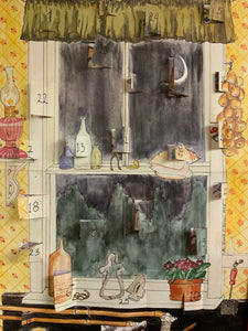 Kitchen Window Advent Calendar