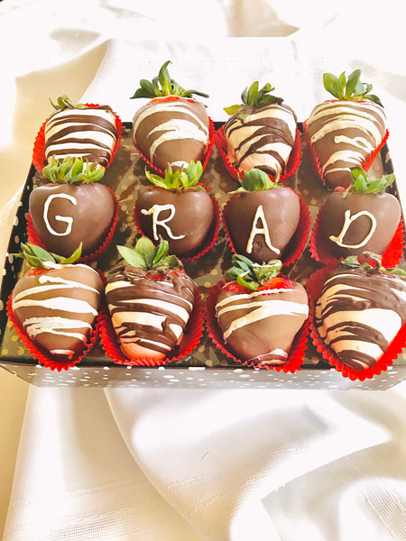 One Dozen Congratulations GRAD Berries