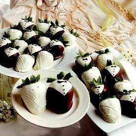 2 Dozen Bride and Groom Berries