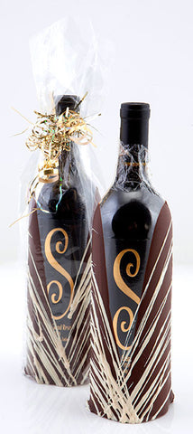 Two Dipped Bottle of Shari's Grand Reserve Wine
