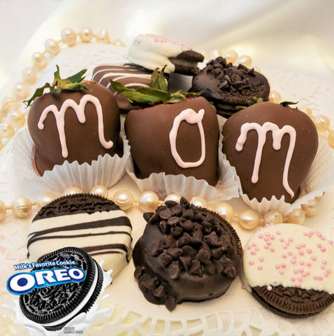 3 Mother's Day Berries and 6 Mother's Day Chocolate Covered Oreos®
