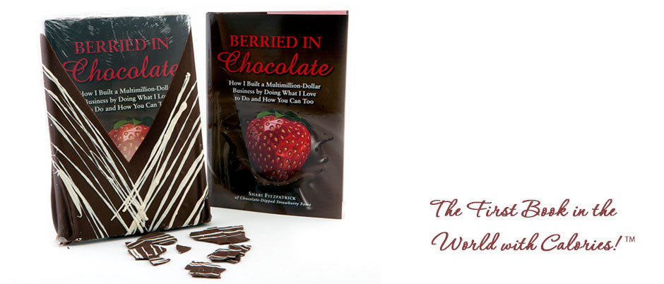 The First Book in the World with Calories! TM Now you can read Shari's book and eat her chocolate at the same time! TM