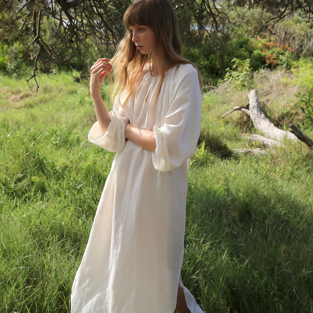 Lena Maxi Dress in Ivory