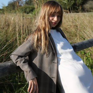 Selia Coat in Farringdon Check
