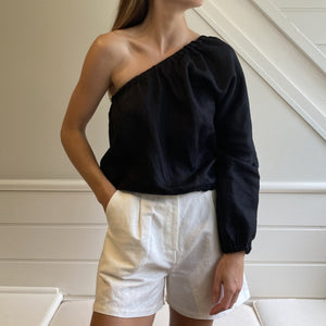 Ophelia Blouse in Black