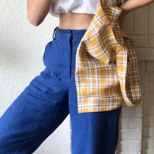 Frida Pant in Egyptian Blue
