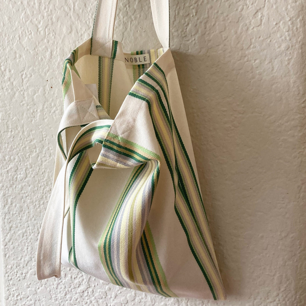 Noble Tote in Retro Stripe