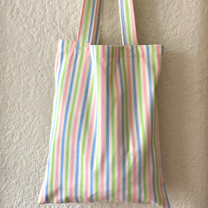 Noble Tote in Candy Stripe