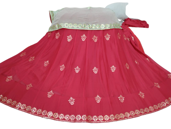 Stylish Chinon Lehenga Chunni - FASHION VERIZON ™