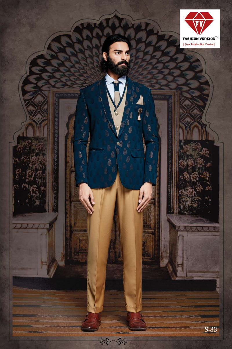 Royal Western Suit 5 Piece with Imported Fabric