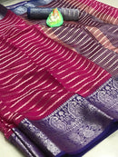 Soft Cotton Weaving Saree