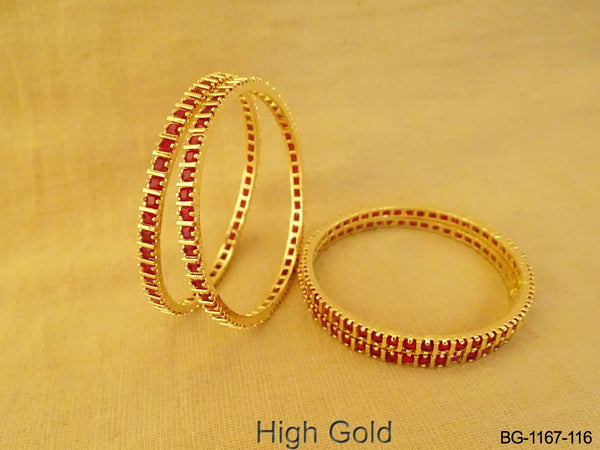 Square Beads Style AD Bangles