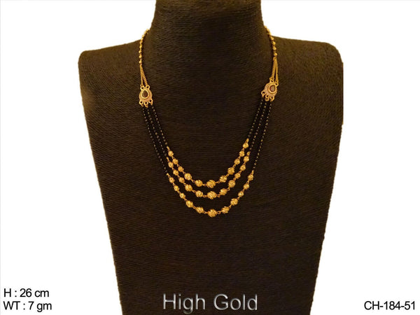 Triple Layer AD Chain Mangalsutra