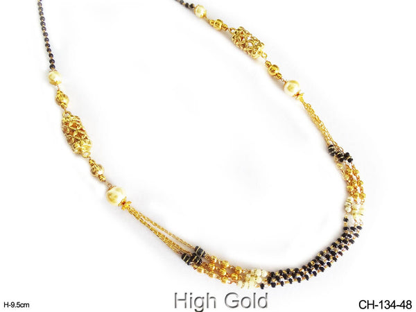 Mangalsutra Style Long Chain Set