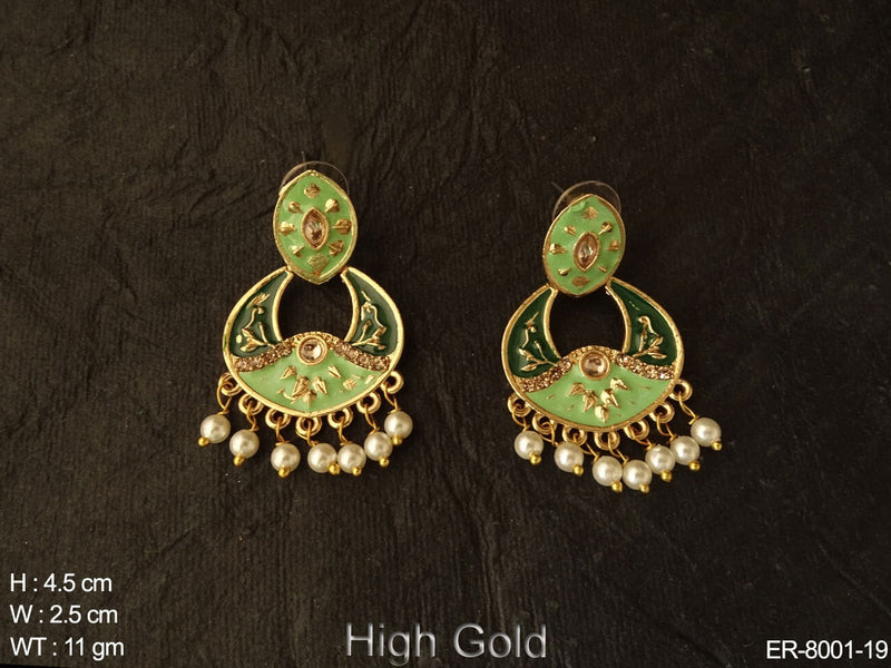 Multiple colour small design antique earring
