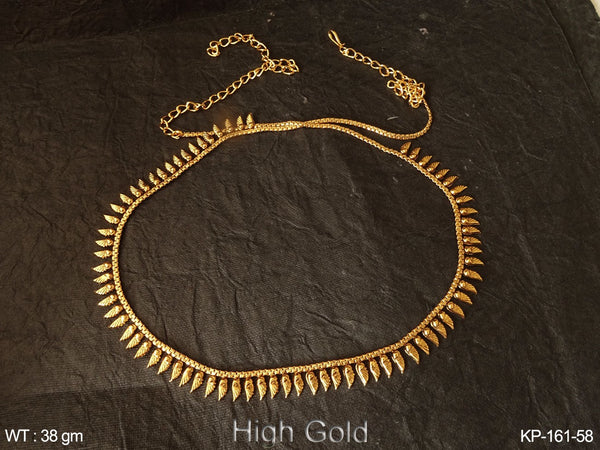 High golden nakshi antique kamar patta