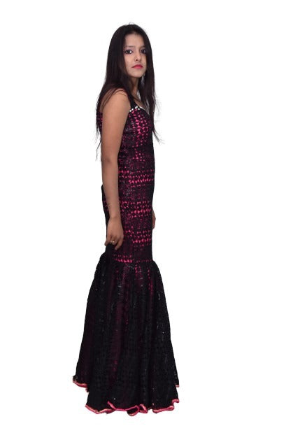 Designed Party Wear Gown - FASHION VERIZON ™