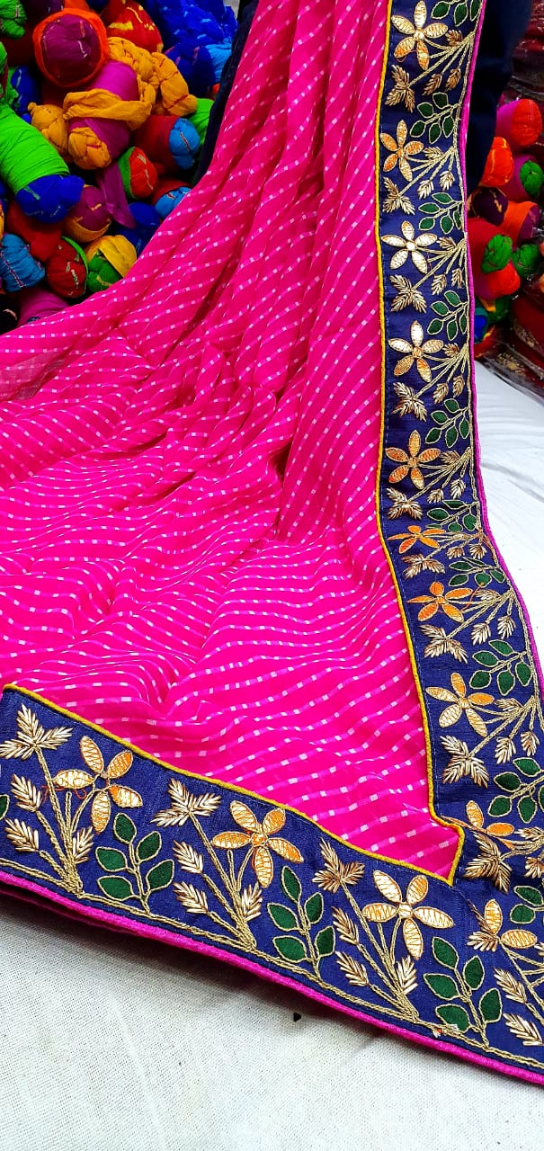 Pure stylish Motda saree