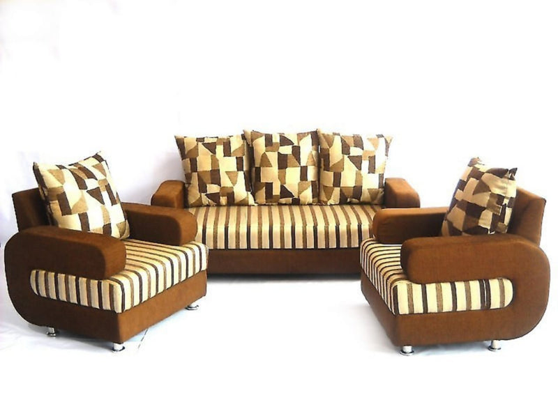 Stylish 3+1+1 Molfino Sofa Set