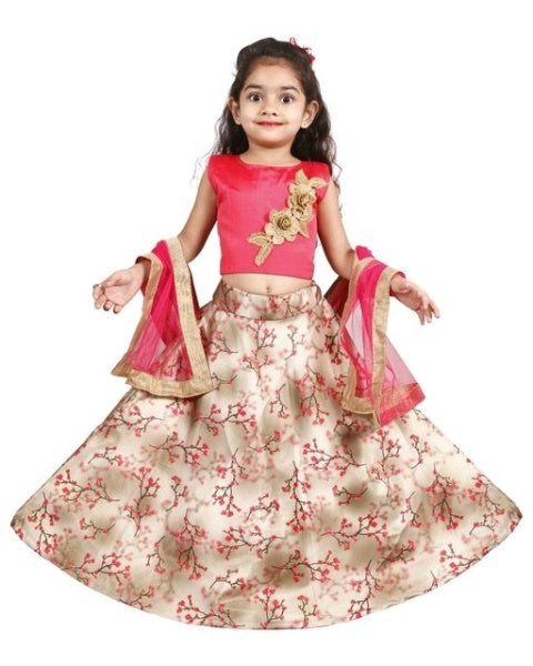 Beautiful Kids's Girl's Lehanga Choli Dress