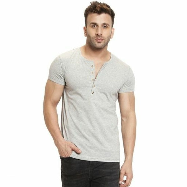 Trendy Men's Cotton T-Shirt