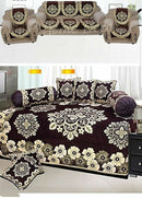 Classic Chenille Diwan Set & Sofa Covers Combo - FASHION VERIZON ™