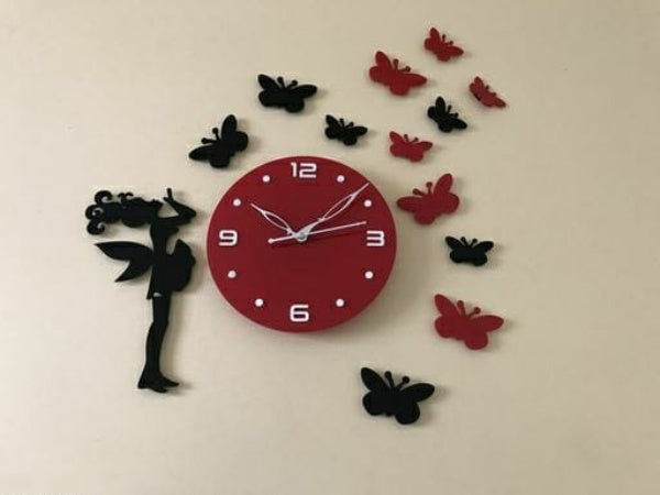 Stylish Acrylic Designer Wall Clock - FASHION VERIZON ™